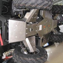 Защита днища для квадроцикла CF MOTO 500 А basic (5 частей)