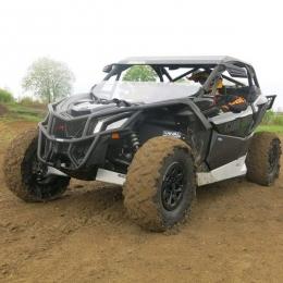 Бампер для квадроцикла передний BRP Maverick X3 с креплением лебедки