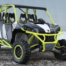 Бампер для квадроцикла передний BRP Maverick 1000 с креплением лебедки (2013-)