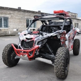 Кенгурин передний для квадроцикла BRP Can-Am (Bombardier) Maverick X3
