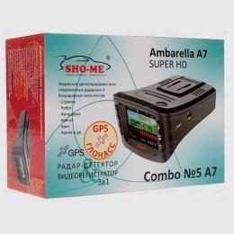 Комбо-устройство Sho-me Combo №1 - A7