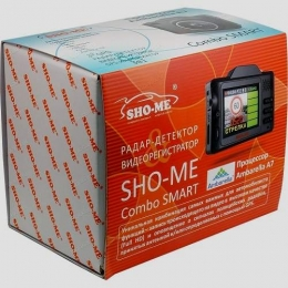 Комбо-устройство Sho-me Combo Smart Signature