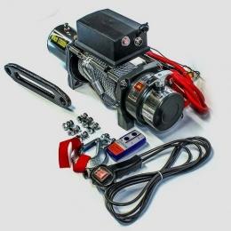 Лебедка электрическая ELECTRIC WINCH EW 12000 (чугунный клюз)
