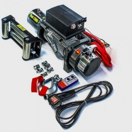 Лебедка ELECTRIC WINCH EW 12000 (12в) (ролики)