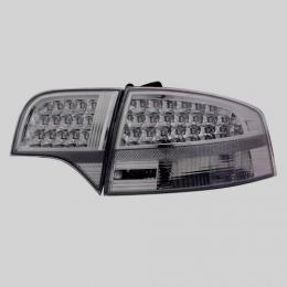 Задняя оптика для Audi A4 (B7; 2004-2007) EAGLE EYES хром