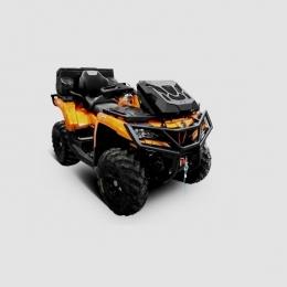 Вынос радиатора с комплектом шноркелей для квадроцикла CFMOTO X8/Х8 Н.О. 2012-
