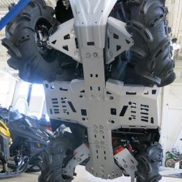 Защита днища для квадроцикла BRP Outlander L 450, 500 (4 части)