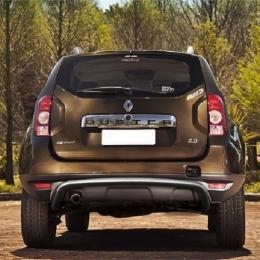 Защита заднего бампера для Renault Duster скоба (d57)