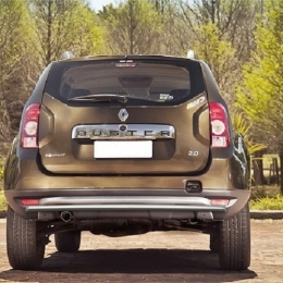 Защита заднего бампера для Renault Duster (d42)