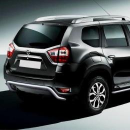 Защита заднего бампера для Nissan Terrano скоба (d57) (2014-)