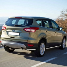 Защита заднего бампера для Ford Kuga уголки d57 (2012-)